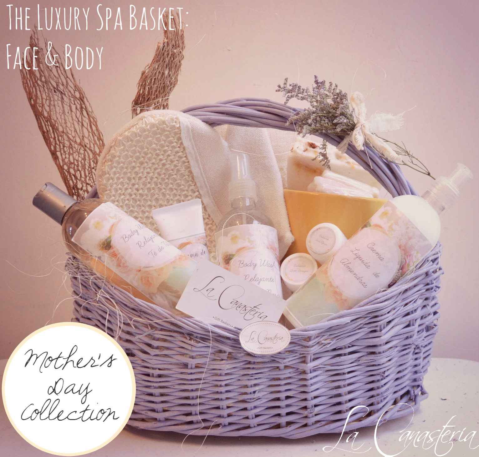 The Luxury Spa Basket Face Amp Body La Canaster 237 A Blog